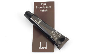 Dunhill-pipe-mouthpiece-polish