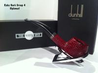 Dunhill_RubyBark_Group4_Diplomat_pipe