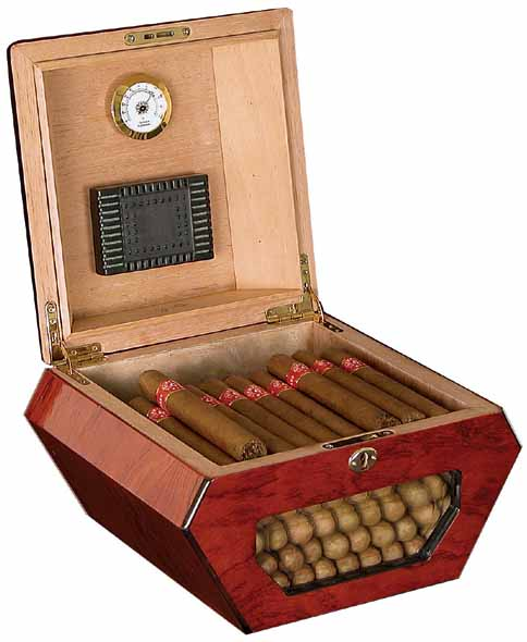 Humidor - Cuban Wheel 2