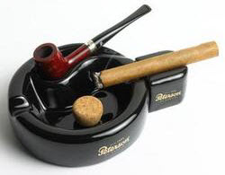 Peterson-pipe-ashtray-with-cigar