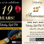 City Cigar 19th Anniversary img for website
