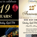 City Cigar 19th Anni img